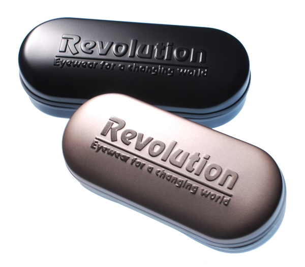 Case & Packaging for Revolution w/Magnetic Clip Ons Glasses